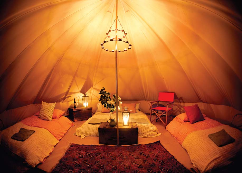 Images & Tiffin Slice - Glamping Holiday